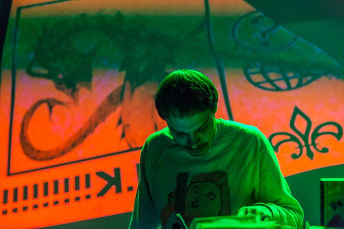 DJ ShluchT at the CryptoRave #8